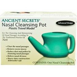 NASAL CLEANSING POT PLASTIC (TRAVEL)  1 UNIT