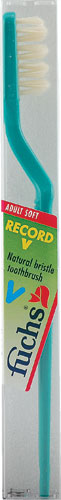 RECORD V NATURAL TOOTHBRUSH SOFT  1 UNIT