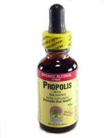 PROPOLIS ORGANIC ALCOHOL 1 OZ