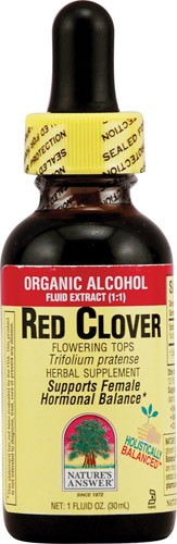 RED CLOVER TOPS EXTRACT  1 OZ