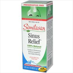 SINUS RELIEF NASAL SPRAY  0.5 OZ