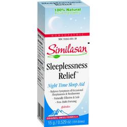 SLEEPLESSNESS RELIEF GLOBULES  15 CT