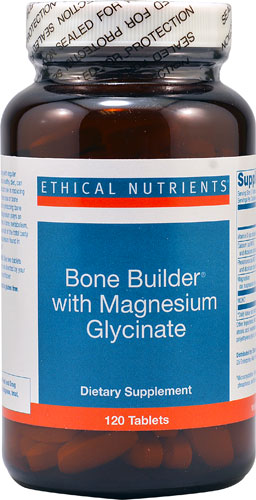BONE BUILDER WITH MAGNESIUM GLYCINATE  120 TABLET