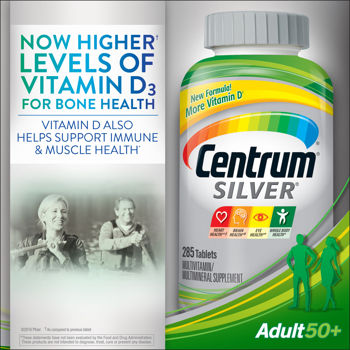 CENTRUM SILVER MULTIVITAMIN WITH LYCOPENE 285+40 TB