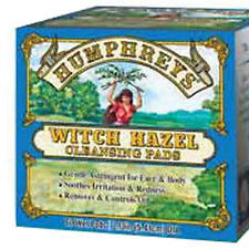 WITCH HAZEL ASTRINGENT CLEANSING PADS  60 CT