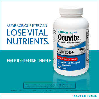 Ocuvite Adult 50+  150 Soft Gels