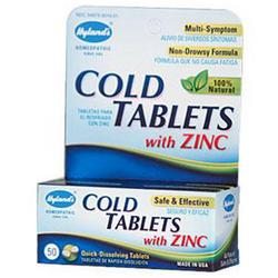 COLD TABLETS WITH ZINC 50 TAB