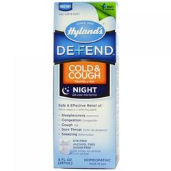 DEFEND COLD'N COUGH NIGHTTIME  8 OZ