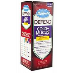 DEFEND COLD + MUCUS  4 OZ