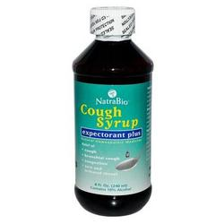 COUGH SYRUP EXPECTORANT PLUS 8 OZ