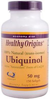UBIQUINOL 50MG SOY FREE NON-GMO  150 SOFTGEL