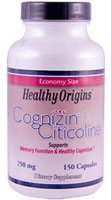 Cognizin (Citicoline) 250毫克  150 膠囊