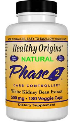 PHASE 2 (WHITE KIDNEY BEAN EXTRACT) 500MG  180 CAP