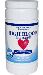 HIGH BLOOD PRESSURE SUPPORT  120 TAB