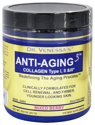 ANTI-AGING 3 COLLAGEN MIXED BERRY  300 GM