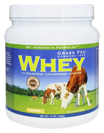 GRASS FED WHEY NATURAL  12 OZ