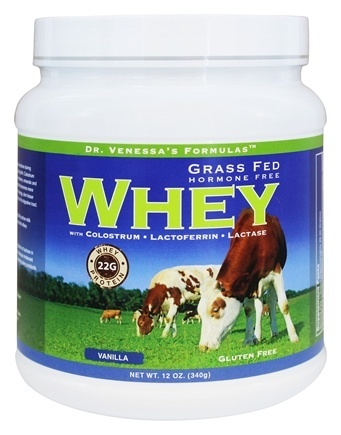 GRASS FED WHEY VANILLA  12 OZ
