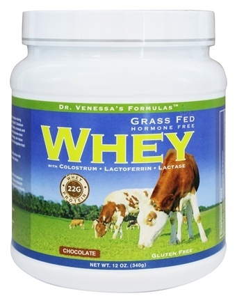 GRASS FED WHEY CHOCOLATE  12 OZ