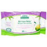 BAMBOO BABY WIPES TRAVEL SIZE  30 CT