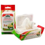 BAMBOO BABY WIPES PACIFIER & TOY  30 CT