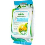 BAMBOO BABY WIPES TOOTH & GUM  30 CT
