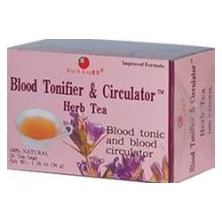 BLOOD TONIFIER & CIRCULATOR TEA  20 BAG