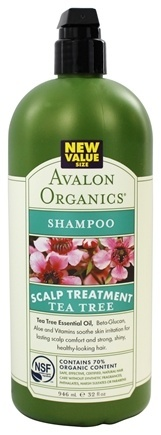 SHAMPOO, SCALP TREATMENT - TEA TREE  32 OZ