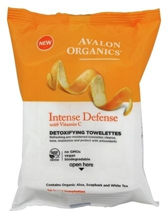 INTENSE DEFENSE DETOXIFYING TOWELETTES  30 CT