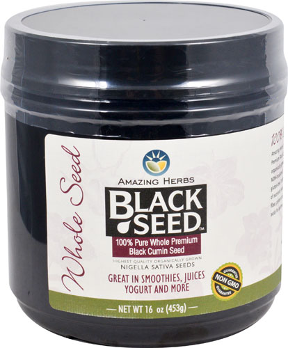 Black Seed Whole Seed  16 oz