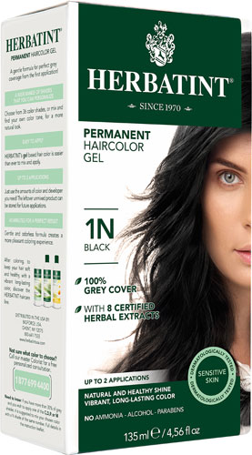 HERBATINT HAIR COLOR 1N BLACK KIT 4.5OZ