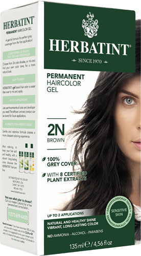 HAIR COLOR 2N BROWN KIT 4.5OZ