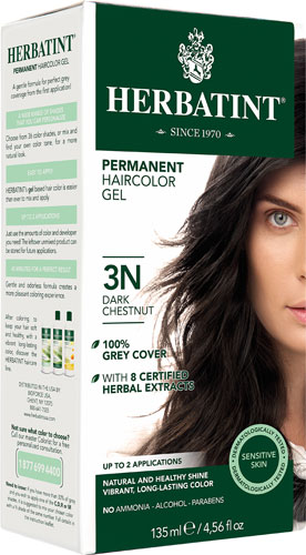 HERBATINT HAIR COLOR 3N DRK CHESTNT KIT 4.5OZ