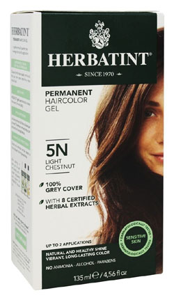 HERBATINT HAIR COLOR 5N LGHT CHSTNT KIT 4.5OZ