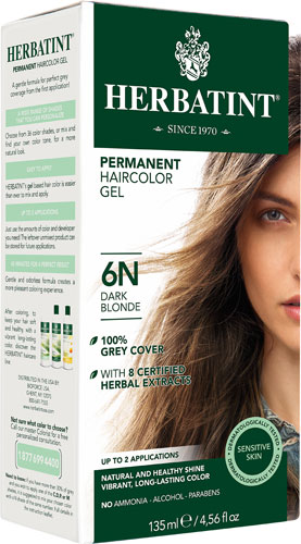 HERBATINT HAIR COLOR 6N DARK BLONDE KIT 4.5OZ