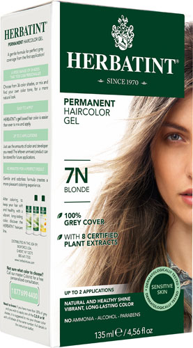 HERBATINT HAIR COLOR 7N BLONDE KIT 4.5OZ