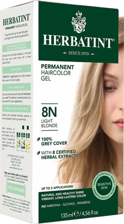 HERBATINT HAIR COLOR 8N LGHT BLONDE KIT 4.5OZ