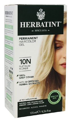 HERBATINT HAIR COLOR 10N PLATINUM BLONDE KIT 4.5OZ