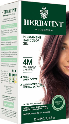 HERBATINT HAIR COLOR 4M MAHOGANY CHESTNUT KIT 4.5OZ