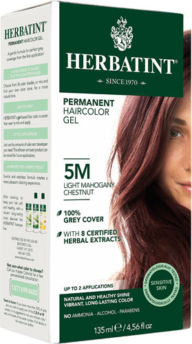 HERBATINT HAIR COLOR 5M LIGHT MAHOGANY CH KIT 4.5OZ