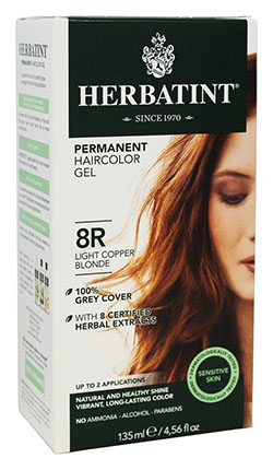 HERBATINT HAIR COLOR 8R LIGHT COPPER BLOND KIT 4.5OZ