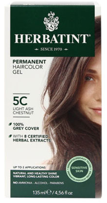 HERBATINT HAIR COLOR 5C LIGHT ASH CHESTNUT KIT 4.5OZ