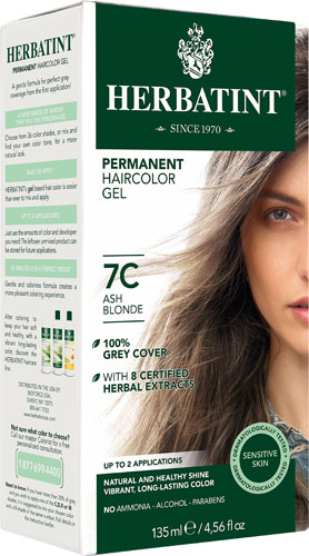HERBATINT HAIR COLOR 7C ASH BLONDE KIT 4.5OZ