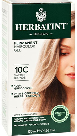 HERBATINT HAIR COLOR 10C SWEDSH BLOND KIT 4.5 OZ