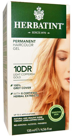 HERBATINT PERMANENT LIGHT COPPERISH GOLD (10DR)  4 OZ