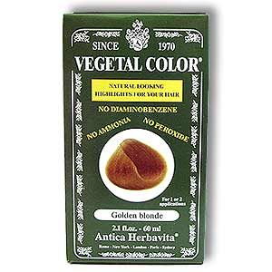 VEGETAL TEMPORARY GOLDEN BLONDE  2 OZ
