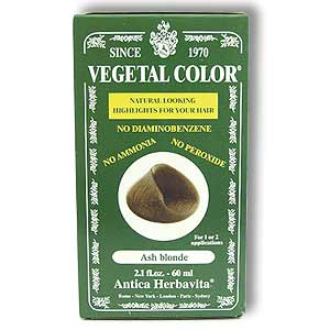 VEGETAL TEMPORARY ASH BLONDE  2 OZ