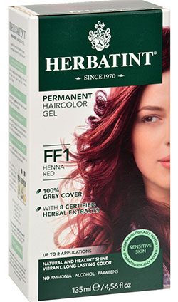 HERBATINT FLASH FASHION HENNA RED FF1  130 ML