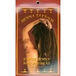 EARTH HENNA BODY PAINTING KIT MINI  1 KIT