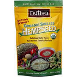 ORGANIC SHELLED HEMPSEED (POUCH)  12 OZ