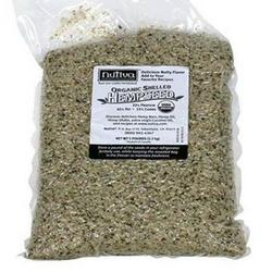 ORGANIC SHELLED HEMPSEED (BAG)  5 LB
